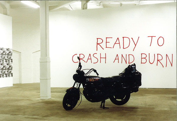 Marc Bijl, Ready To Crash And Burn, 2003